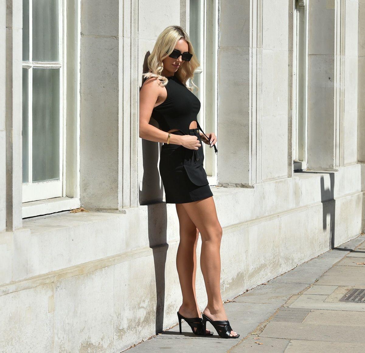 Amber Turner Boohoo Photoshoot London