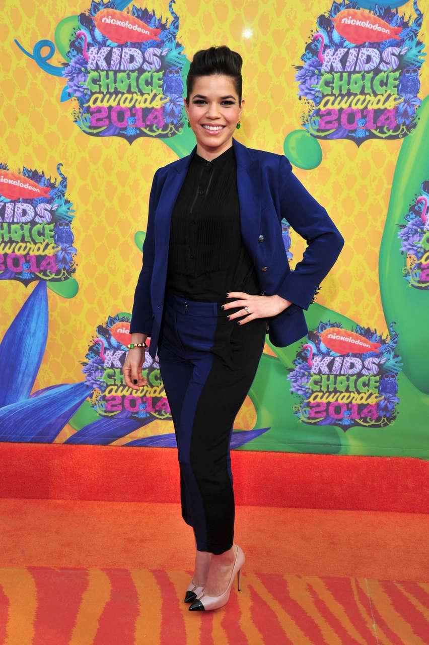 America Ferrera 2014 Nickelodeons Kids Choice Awards Los Angeles