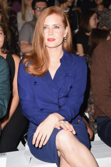 Amy Adams Max Mara Fashion Show Milan