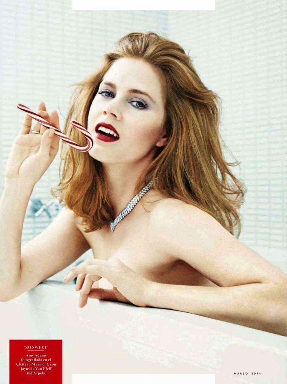 Amy Adams Vanity Fair Magazine Spain March 2014 Issue