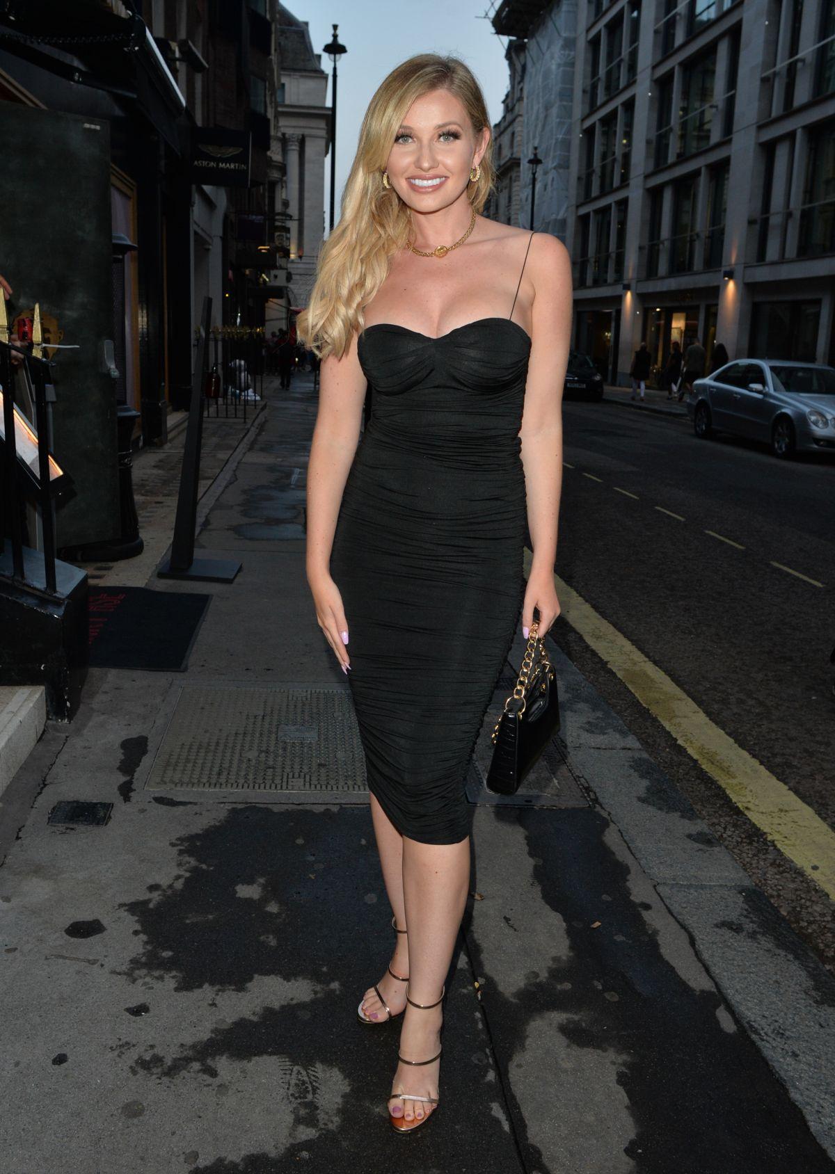 Amy Hart Arrives Oh Polly Party Mayfair