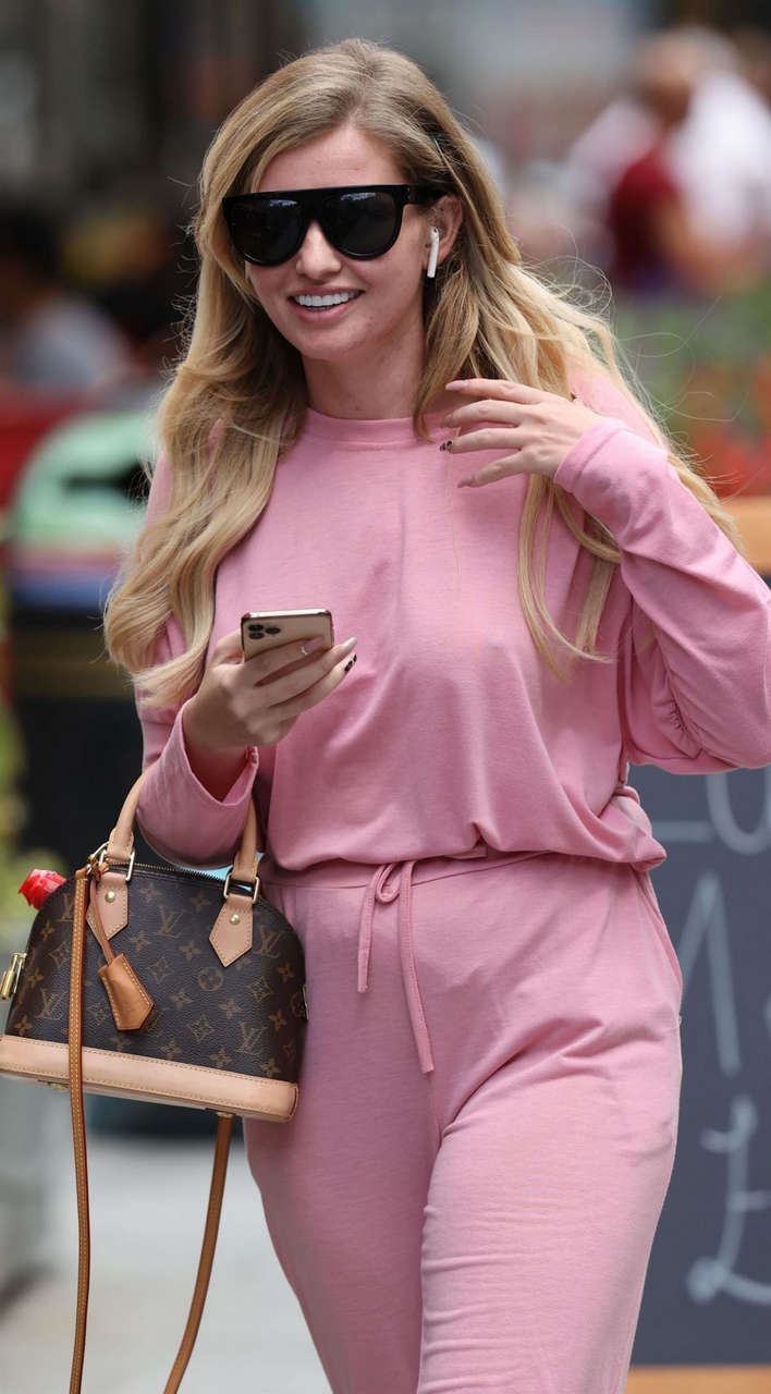 Amy Hart Out Leicester Square London