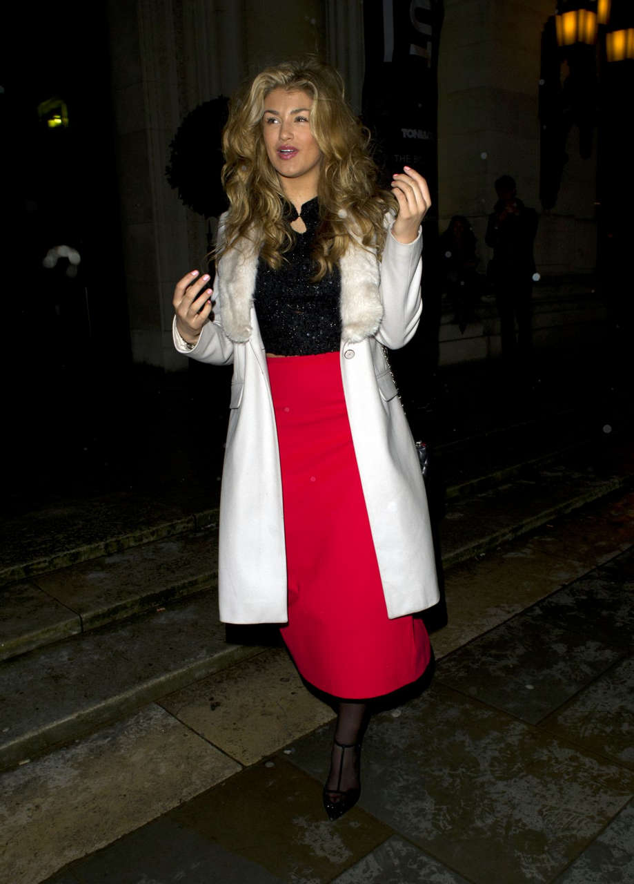 Amy Willerton Pinghe Fashion Show London