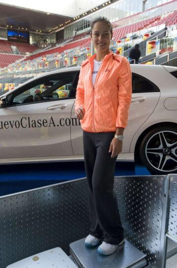 Ana Ivanovic Promotes Mercedes Madrid Open