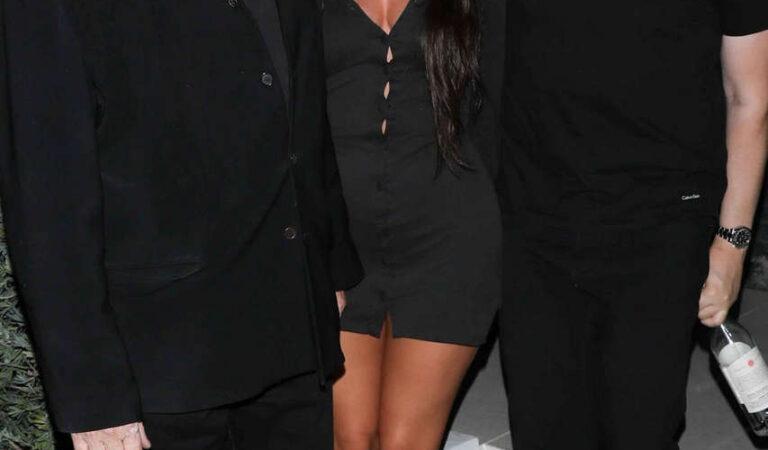Anastasia Karanikolaou Leaves Party Hollywood (9 photos)