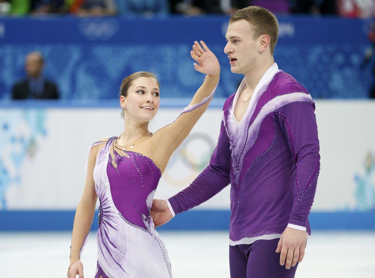 Andrea Davidovich Evgeni Krasnopolski 2014 Winter Olympics Sochi