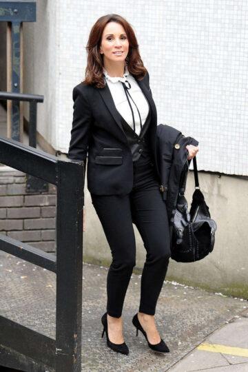 Andrea Mclean Leaves Itv Loose Women Studios London