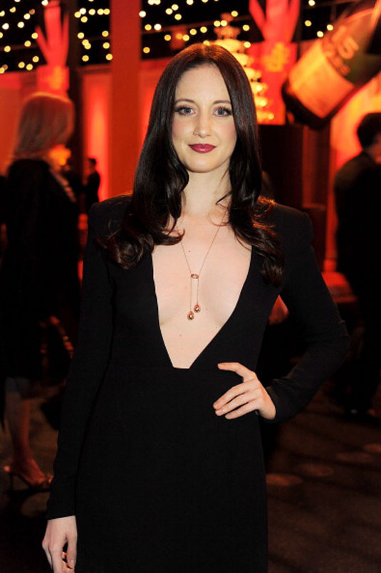 Andrea Riseborough Moet British Independent Film Awards London