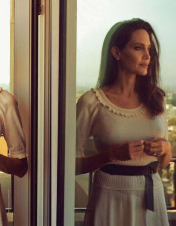 Angelina Jolie Grazia Magazine Italy September