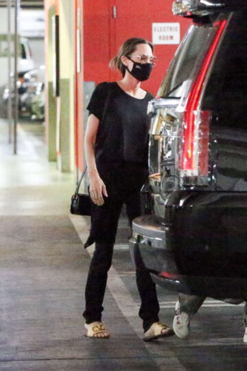 Angelina Jolie Out Shopping West Hollywood