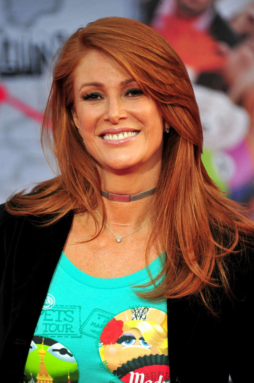 Angie Everhart Muppets Most Wanted Premiere Los Angeles