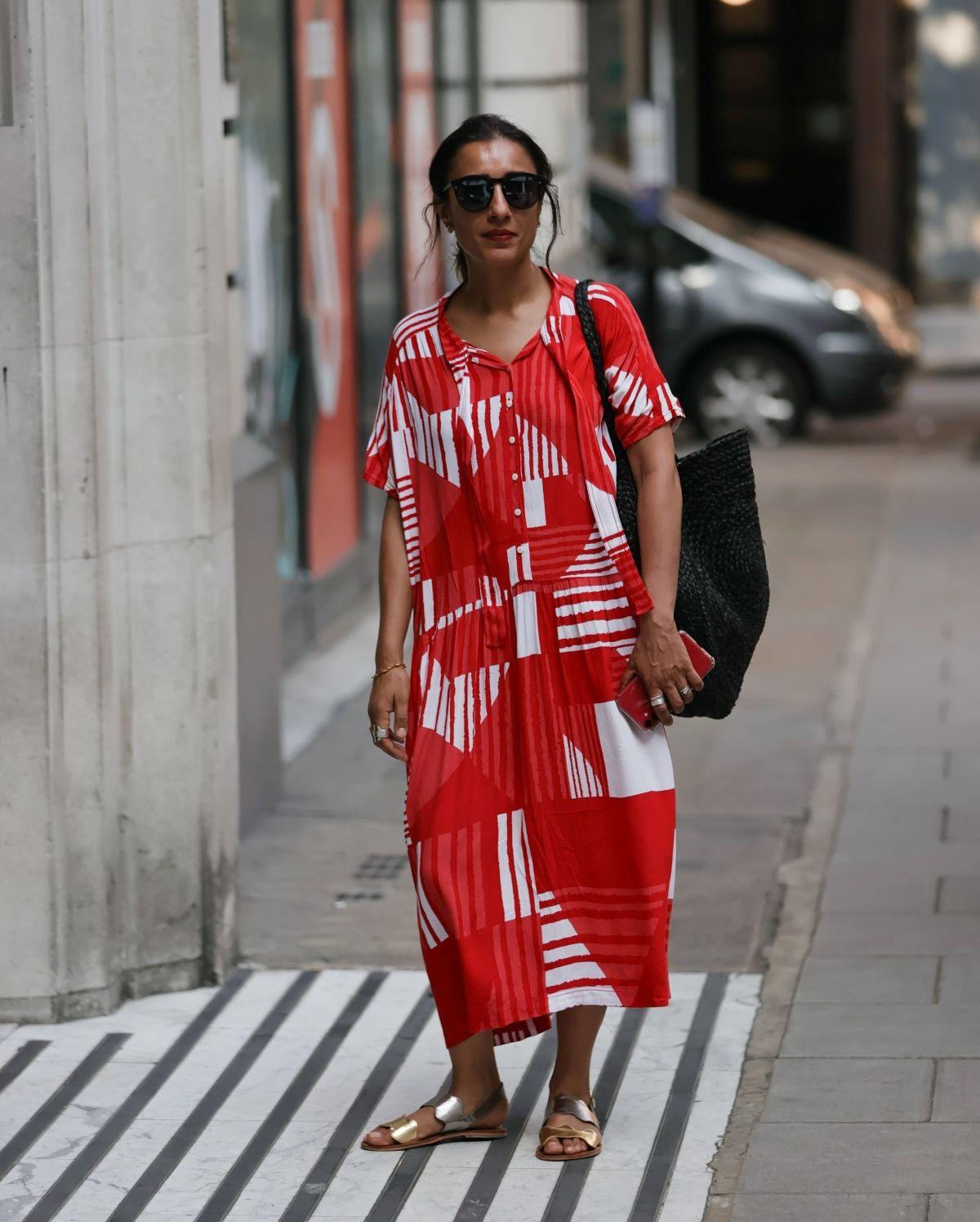 Anita Rani Out About London