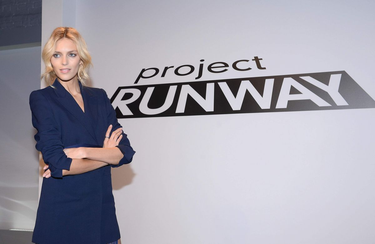 Anja Rubik Project Runway Photocall Warsaw
