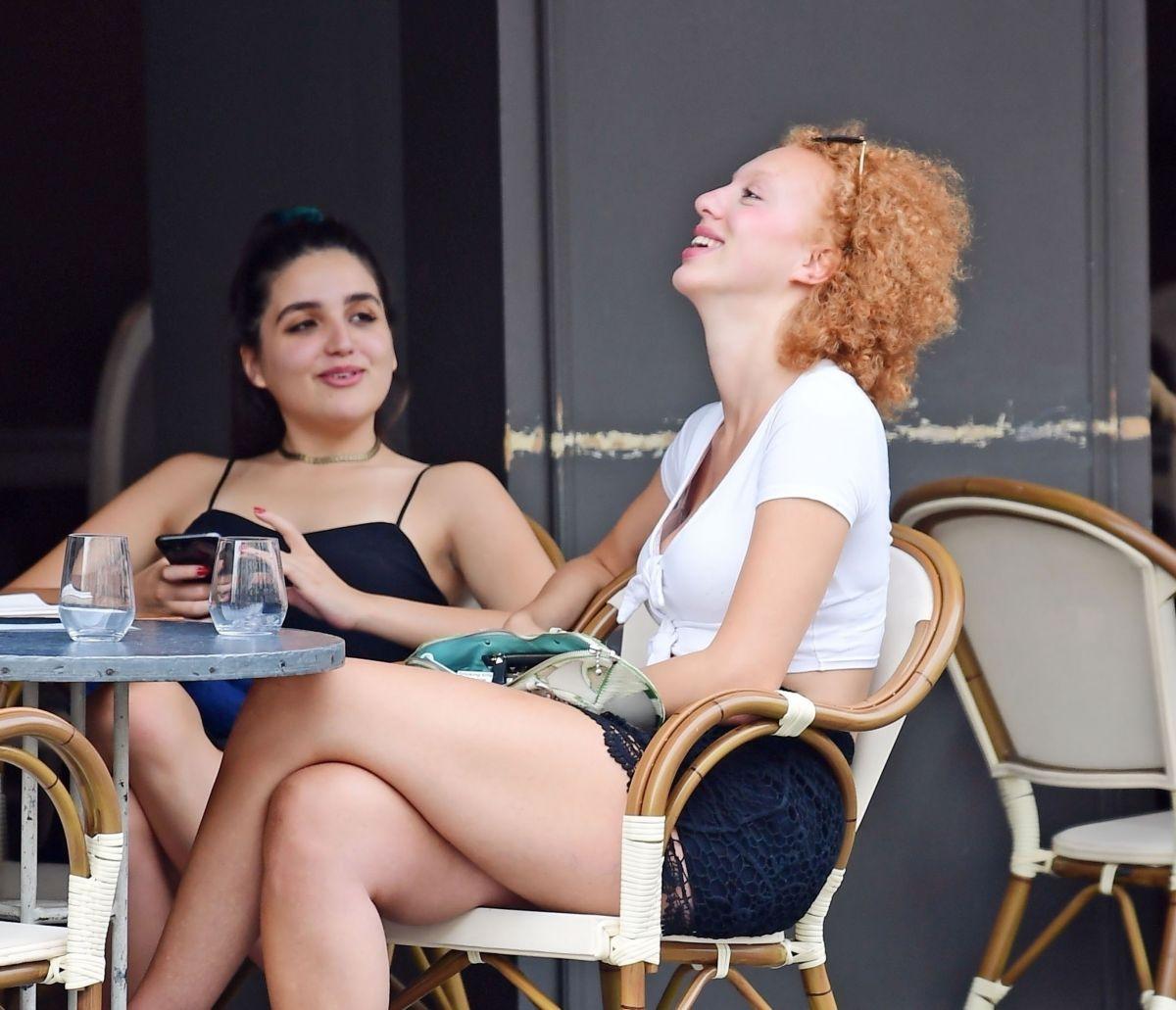 Anna Ermakova Aubaine Cafe Knightsbridge