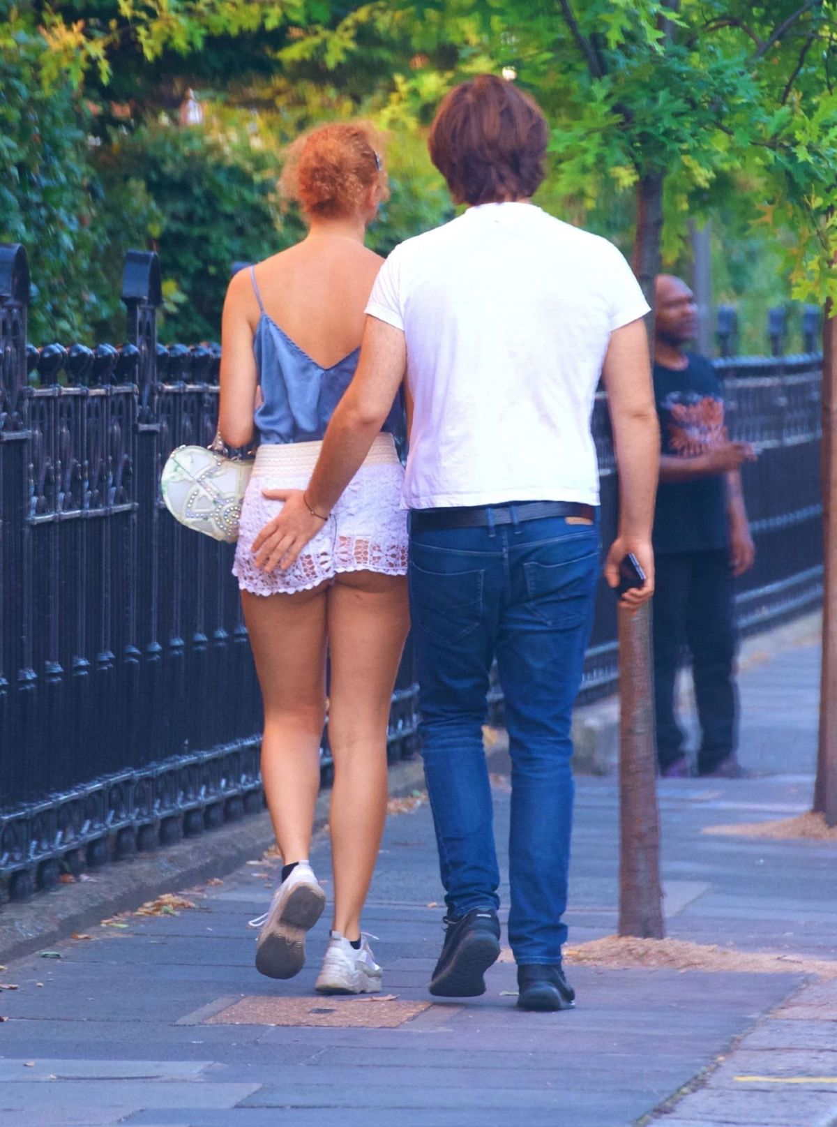 Anna Ermakova Out About Chelsea
