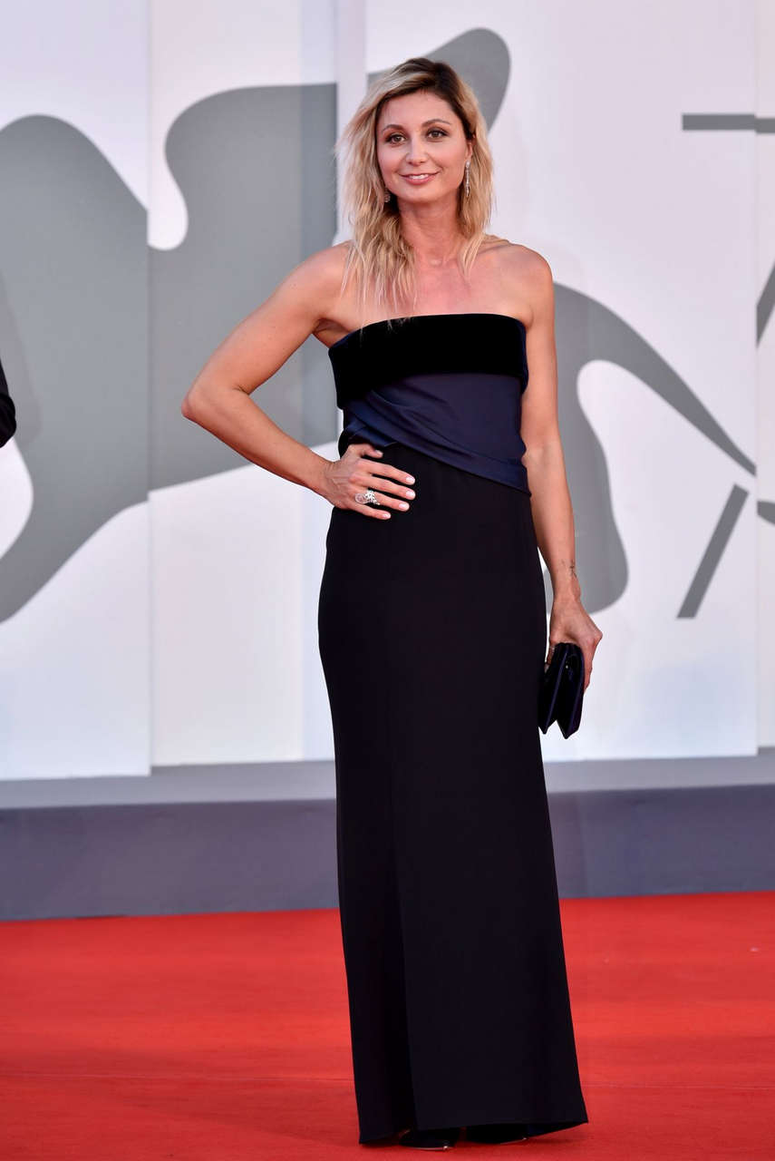 Anna Ferzetti 2020 Venice Film Festival Closing Ceremony