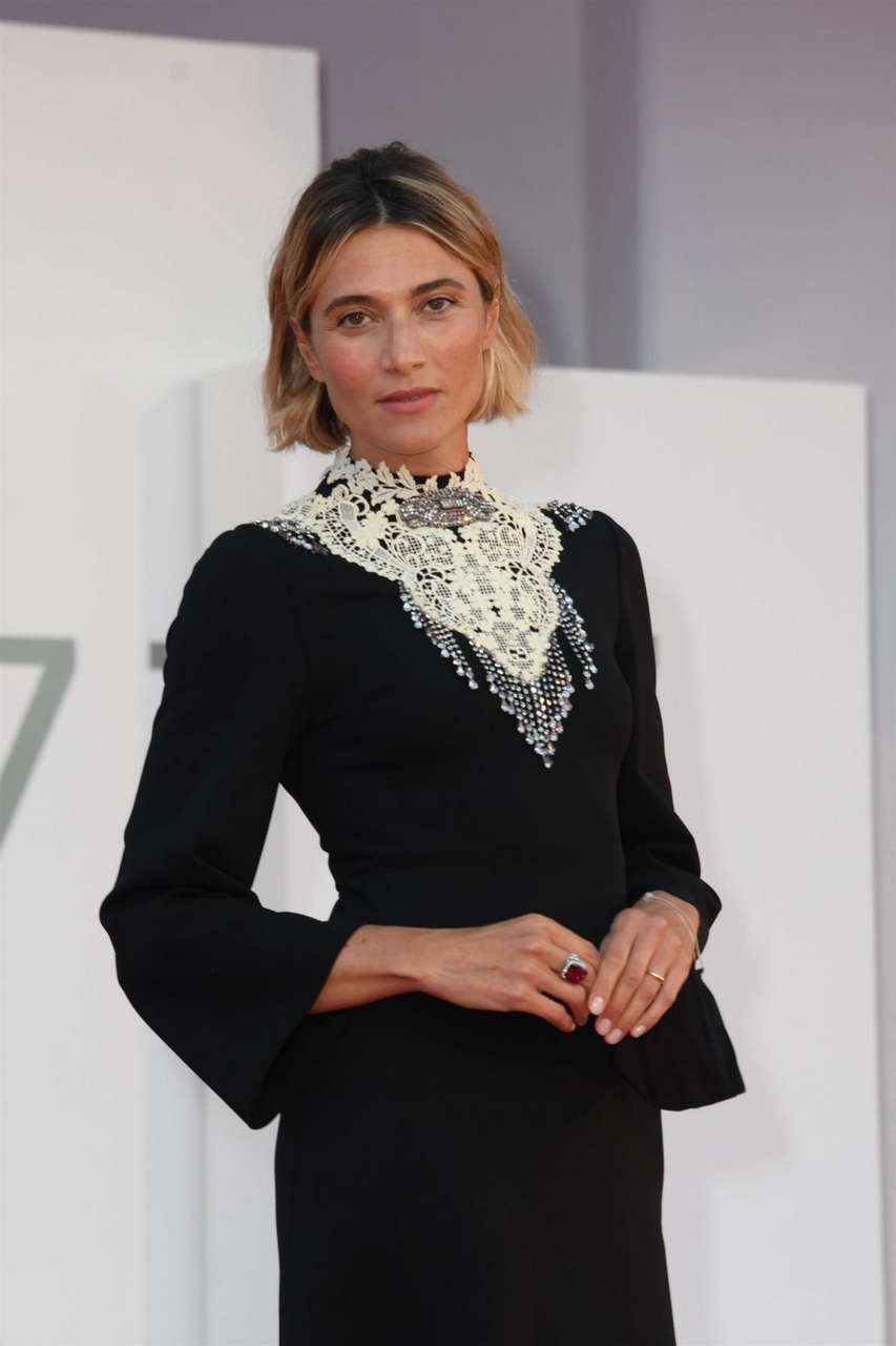 Anna Foglietta Notturno Premiere 2020 Venice Film Festival