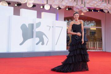Anna Foglietta Padrenostro Premiere 2020 Venice Film Festival