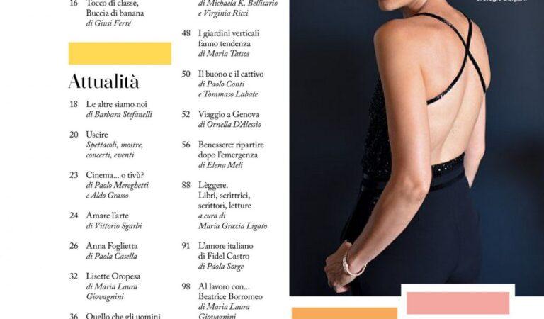 Anna Fogliette Io Donna Del Corriere Della Sera August (5 photos)