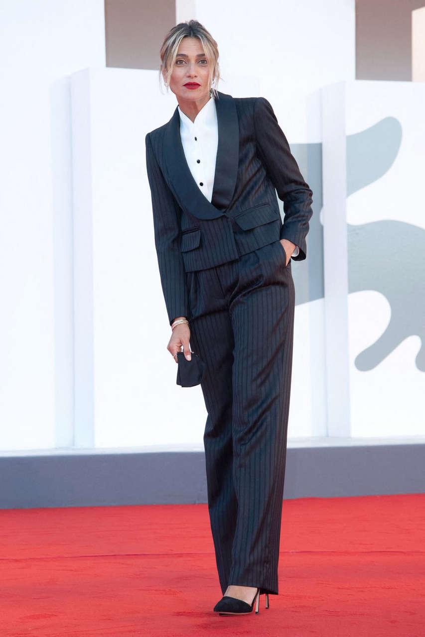 Anna Goglietta Patroness Red Carpet 2020 Venice Film Festival