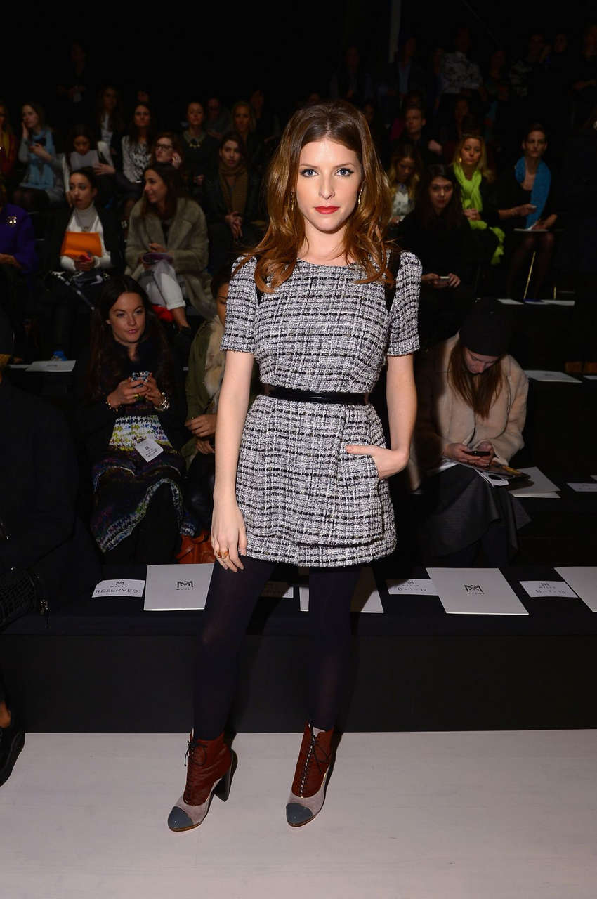 Anna Kendrick Milly By Michelle Smith Fashion Show New York