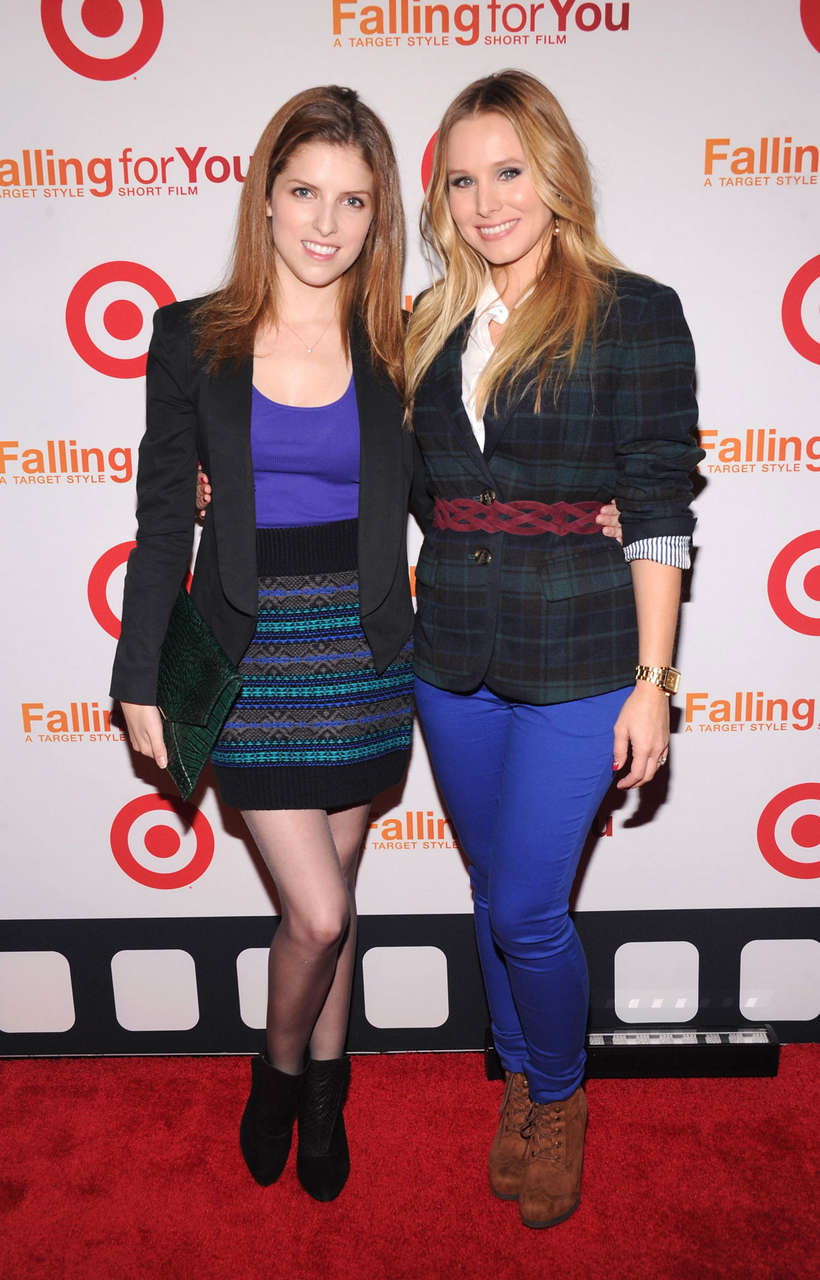 Anna Kendrick Target Falling You Fall Style Event New York