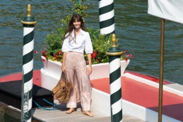 Annabelle Belmondon Arrives Hotel Excelsior Venice