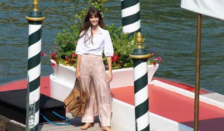 Annabelle Belmondon Arrives Hotel Excelsior Venice (8 photos)