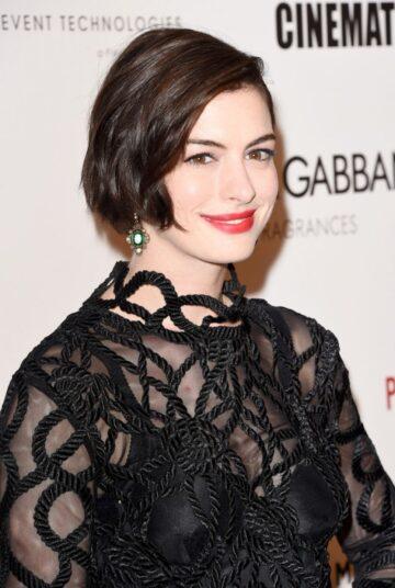 Anne Hathaway 2014 American Cinematheque Award Beverly Hills