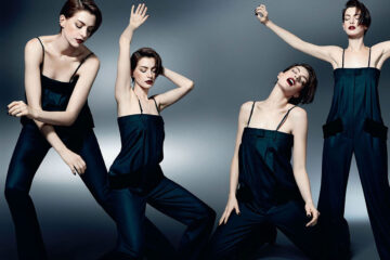 Anne Hathaway Elle Magazine November Uk 2014 Issue