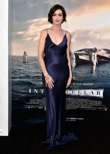 Anne Hathaway Interstellar Premiere Hollywood