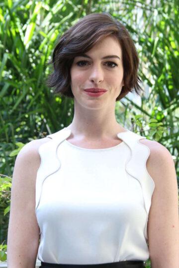 Anne Hathaway Interstellar Press Conference West Hollywood