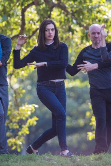 Anne Hathaway Set Intern New York