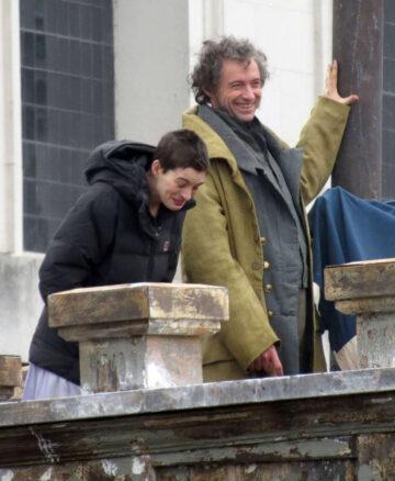 Anne Hathaway Set Les Miserables London