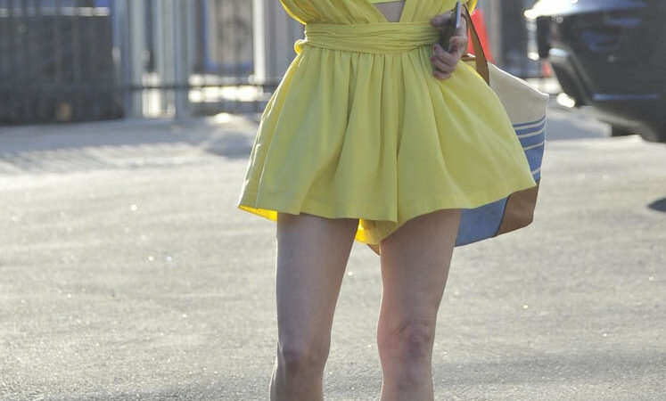 Anne Heche Arrives Dancing With Stars Rehearsal Hollywood (3 photos)
