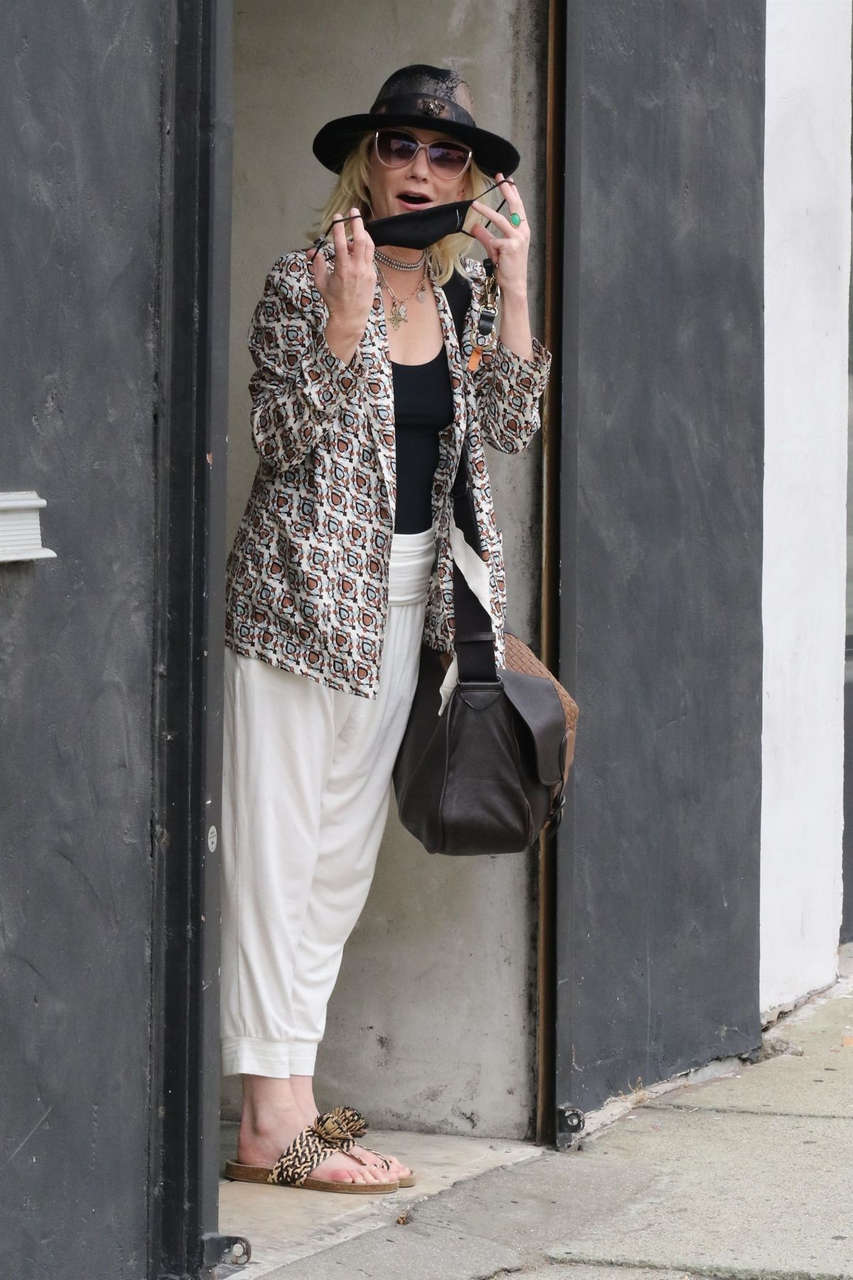 Anne Heche Arrives Leaves Dance Studio Los Angeles