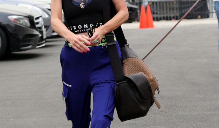 Anne Heche Dwts Studio Los Angeles (13 photos2)