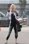 Anne Heche Heading To Dance Practice Los Angeles