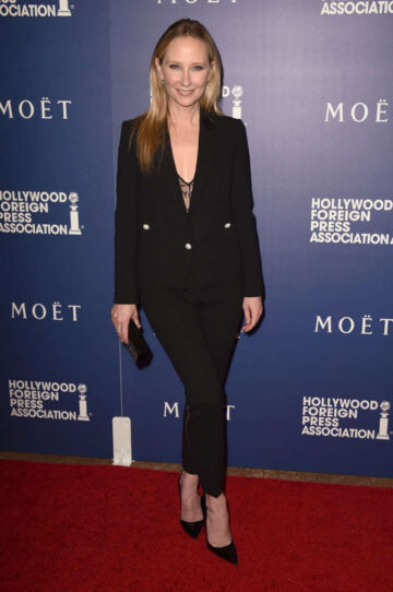 Anne Heche Hollywood Foreign Press Associations Grants Banquet Beverly Hills