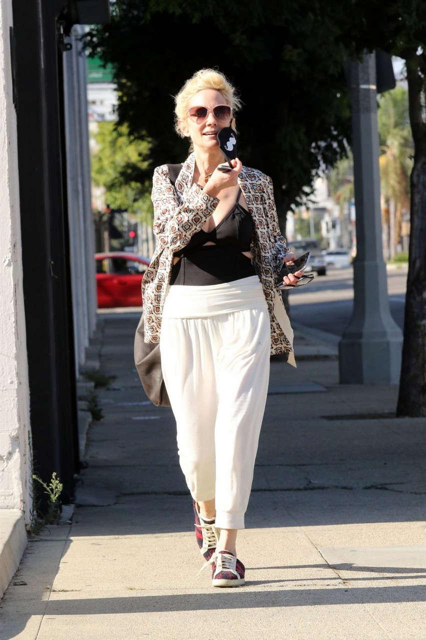 Anne Heche Leaves Dance Studio Los Angeles