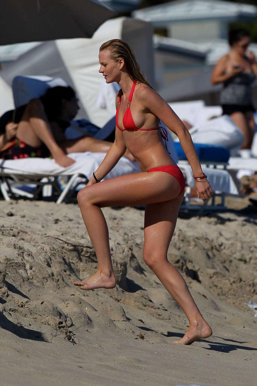 Anne Vyalitsyna Bikini Beach Miami