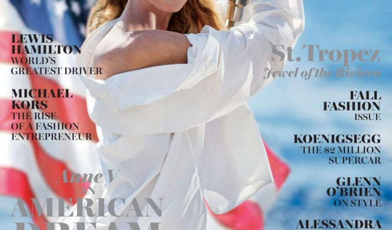 Anne Vyalitsyna Maxim Magazine September 2016 Issue (12 photos)
