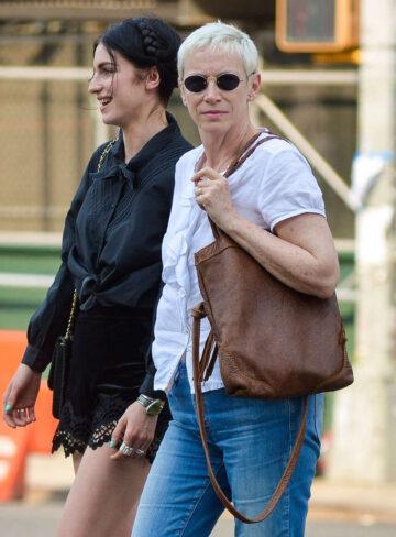 Annie Lennox Daughter Tali Take Out Manhattan