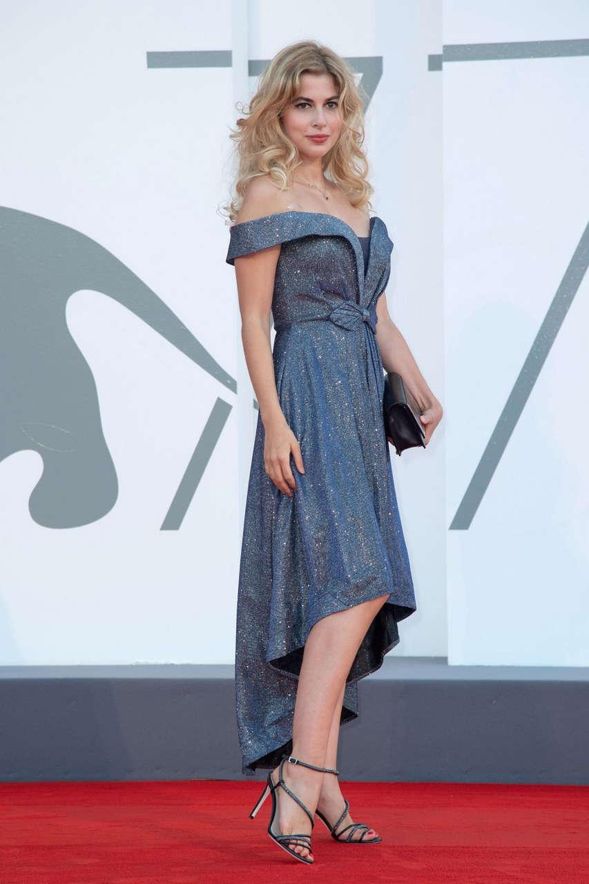 Antoinette Aron Never Gonna Snow Again Premiere 77th Venice Film Festival