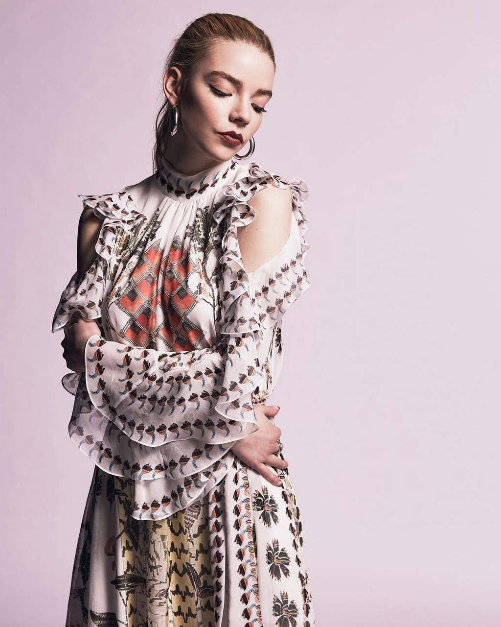 Anya Taylor Joy For La Vanguardia Magazine August