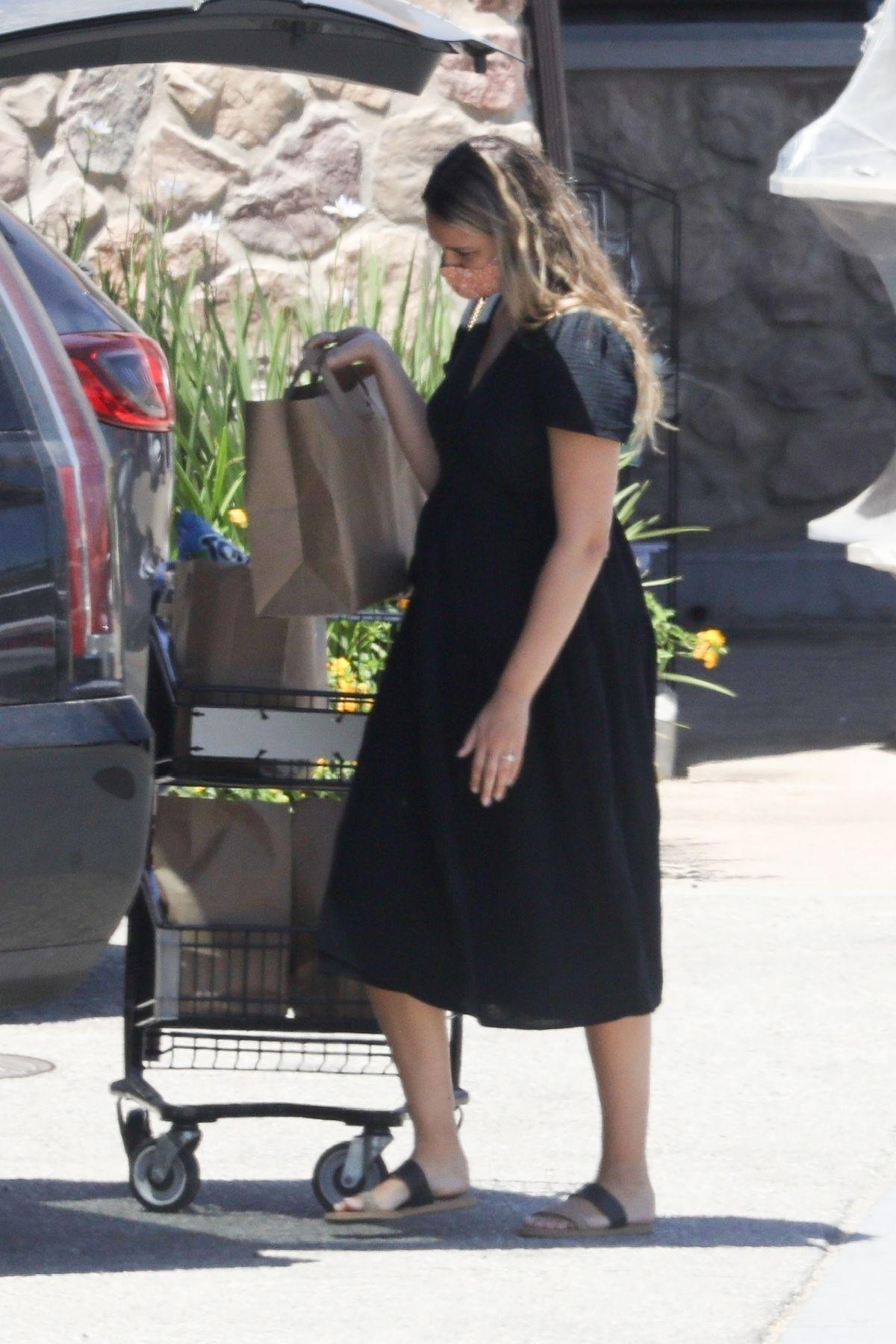 April Love Gaery Out Shopping Malibu