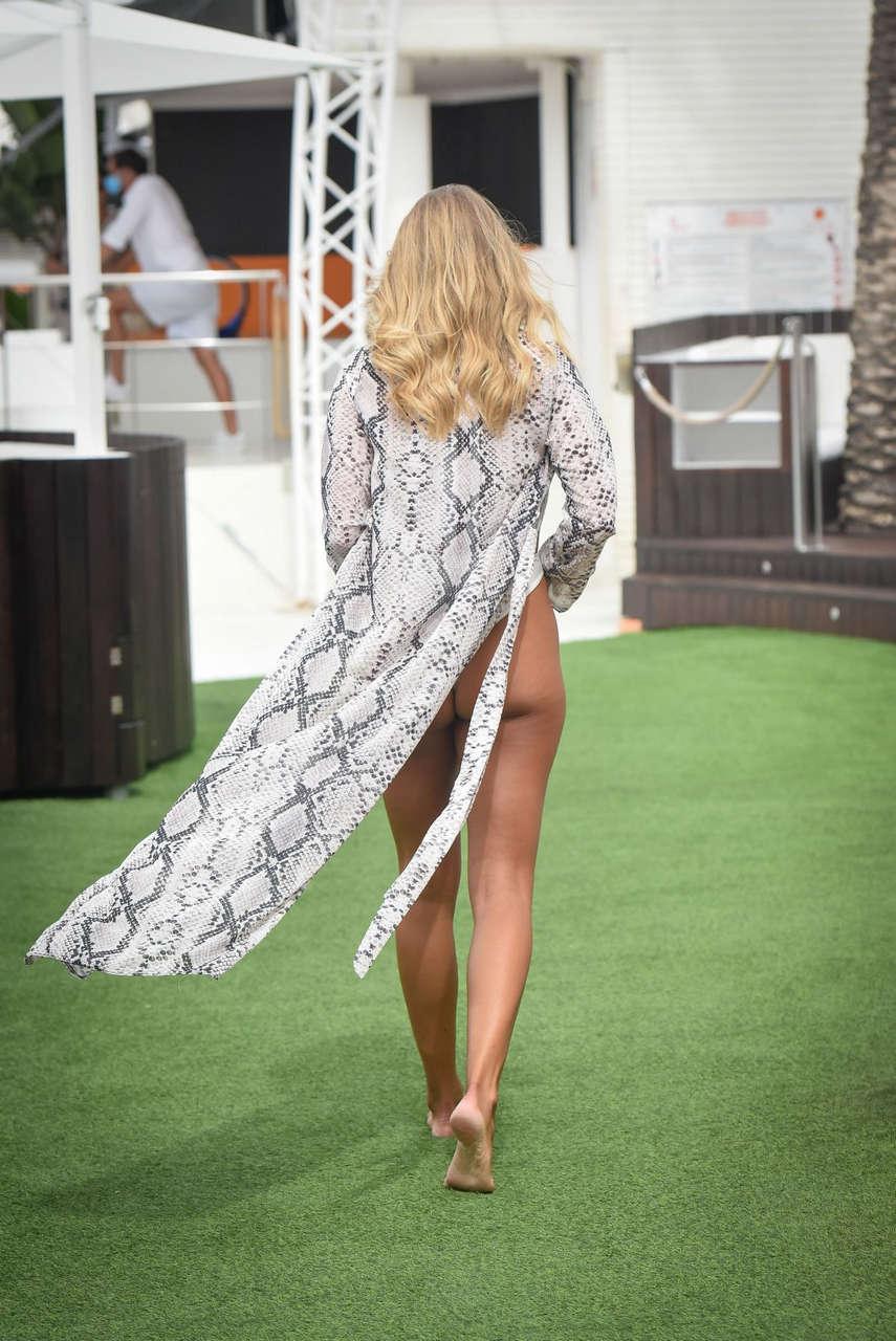 Arabella Chi Swimsuit Photoshoot Spain
