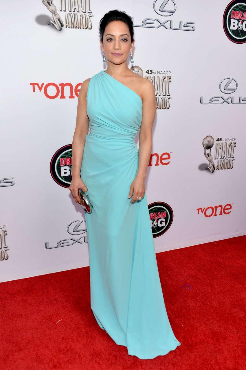 Archie Panjabi 45th Naacp Image Awards Pasadena