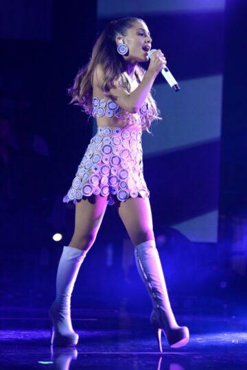 Ariana Grande Performs Heartradio Ultimate Pool Party Miami Beach