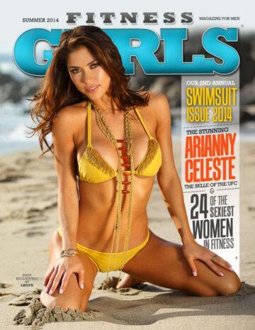 Arianny Celeste Fitness Gurls Magazine July 2014 Issue
